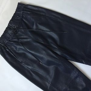 NWT- JCREW LEATHER PANTS